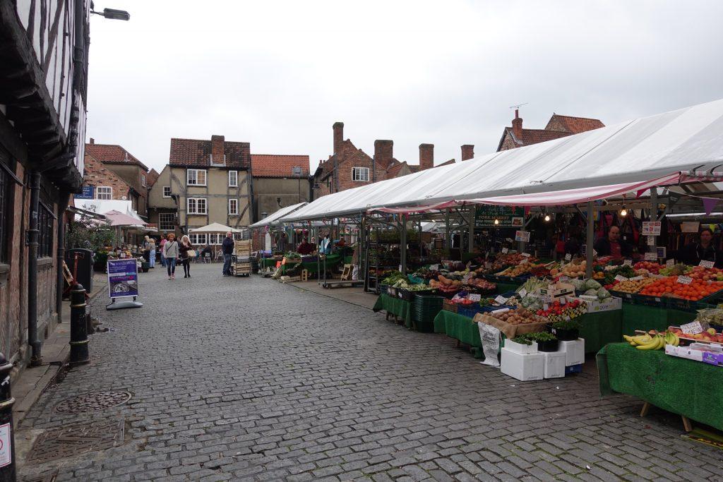 Shambles Market de York, Inglaterra