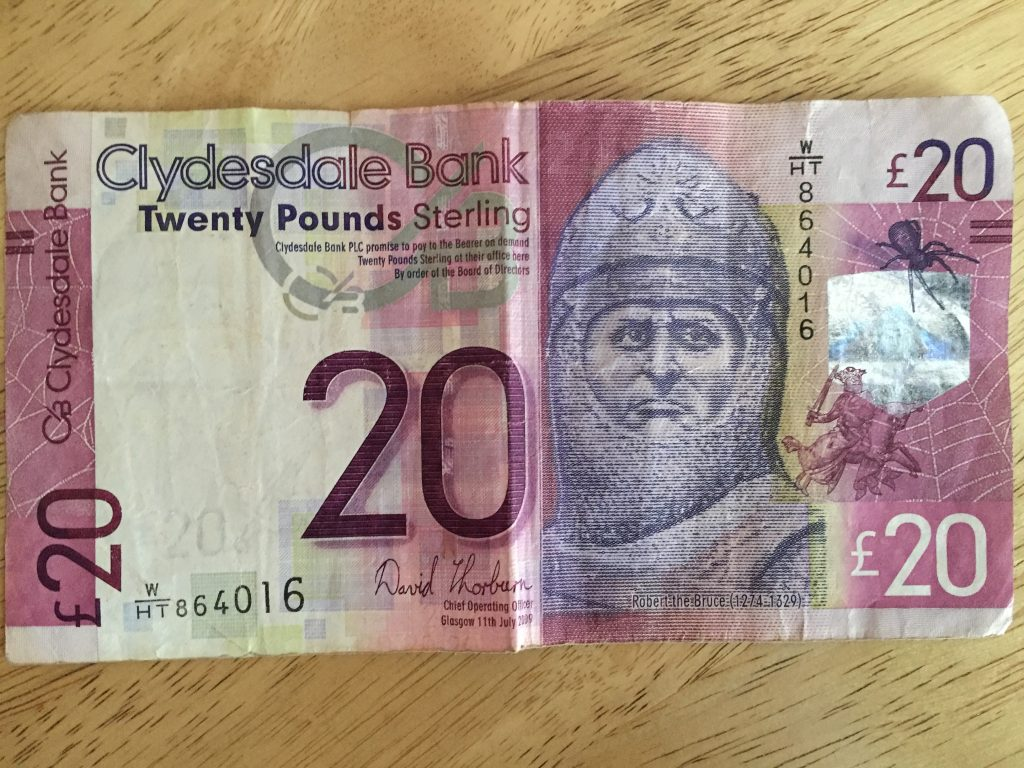 Edimburgo - billete