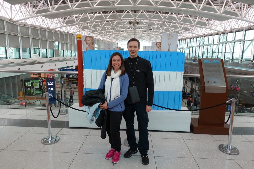 Ezeiza - Viaje a Europa