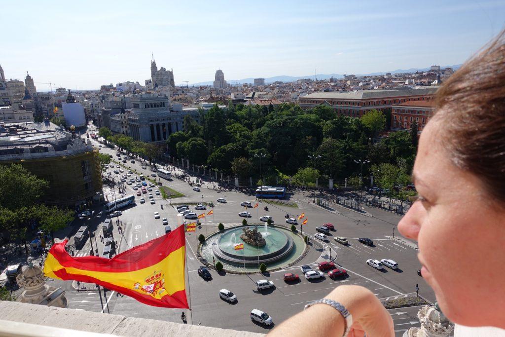 Madrid - Terraza del Ayuntamiento