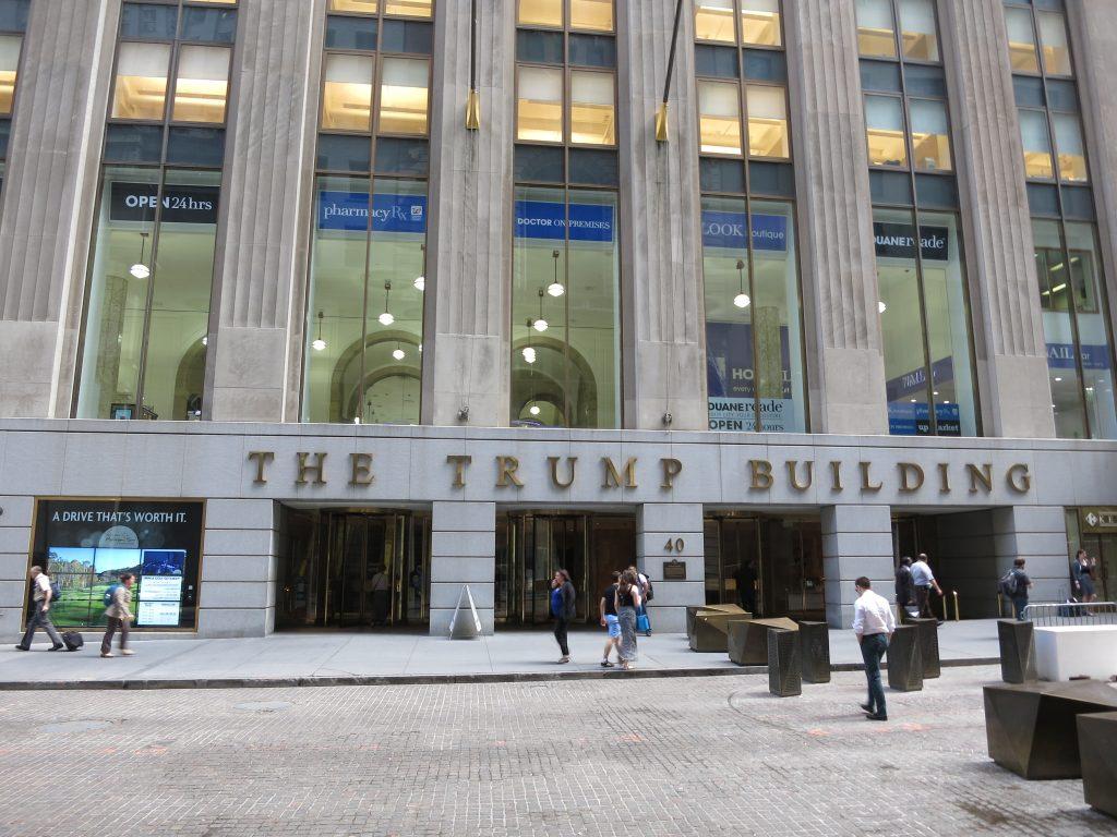 NY - Donald Trump en Wall Street