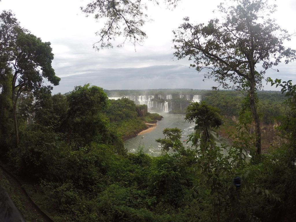 Cataratas del Iguazú, lado Brasil