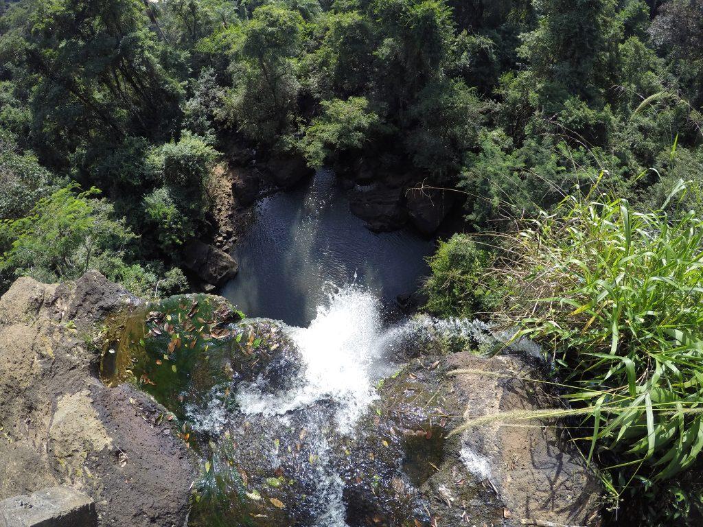 Salto Arrechea en el Sendero Macuco en el Parque Nacional Iguazú, lado argentino