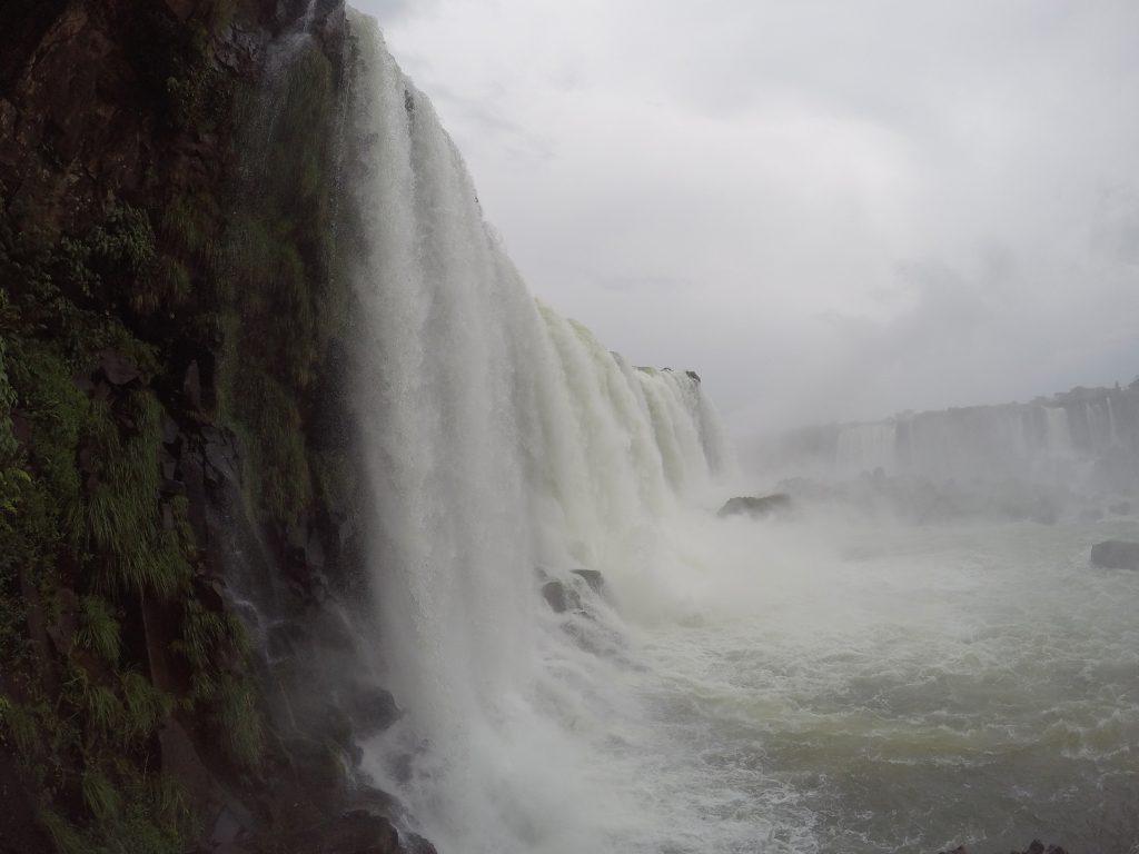 Salto Floriano - Cataratas del Iguazú, lado Brasil