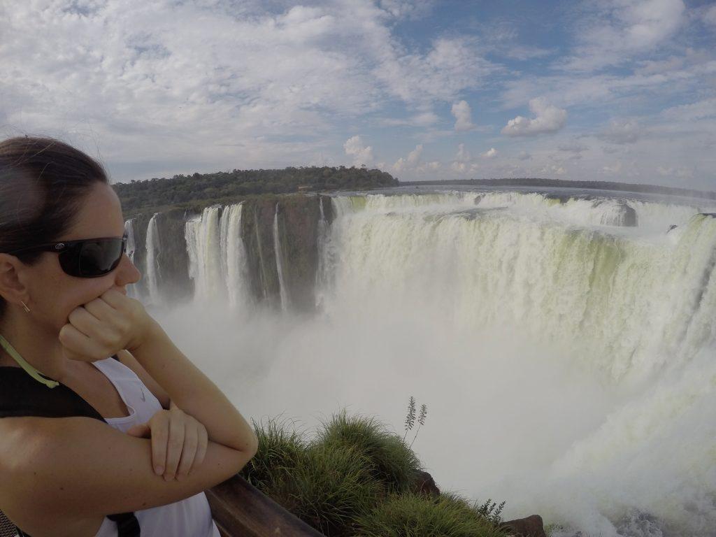 Garganta del Diablo en el Parque Nacional Iguazú, lado argentino