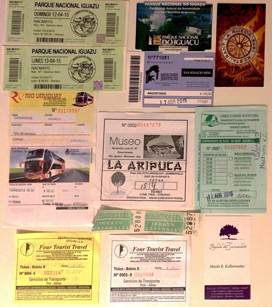 Itinerario en Puerto Iguazú