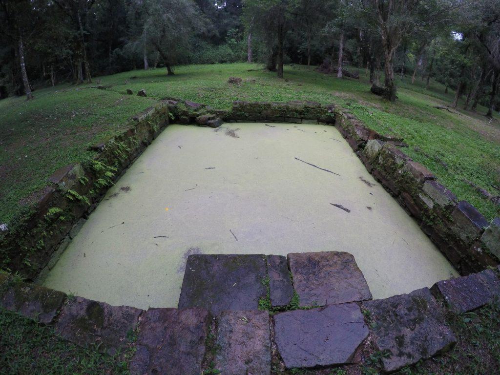 Visita a las ruinas de Santa Ana en el sur de Misiones