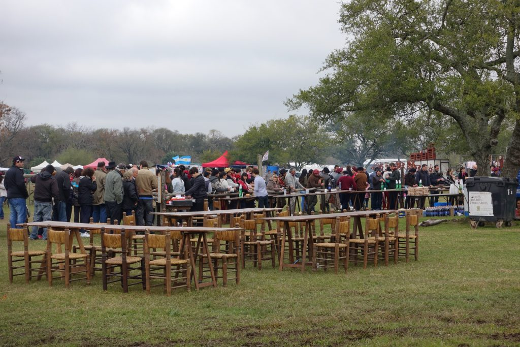 San Antonio de Areco - Fiesta Entrevero de Tropillas Entabladas