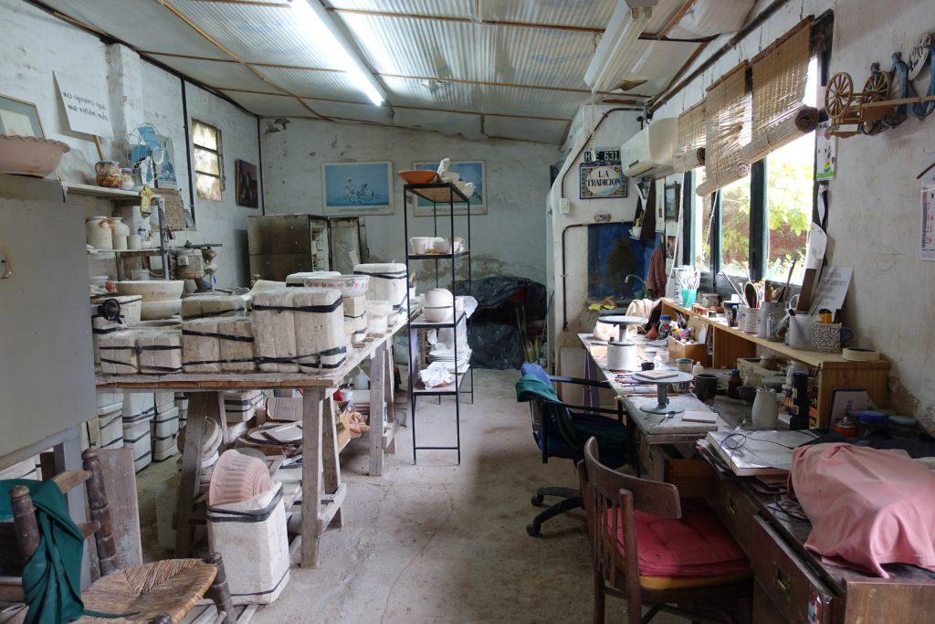 San Antonio de Areco - Paseo de Las Tinajas - El taller de Pity